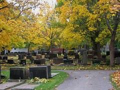 kirkegård sorg